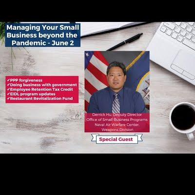 Managing Your Small Business Beyond the Pandemic - June 2, 2021